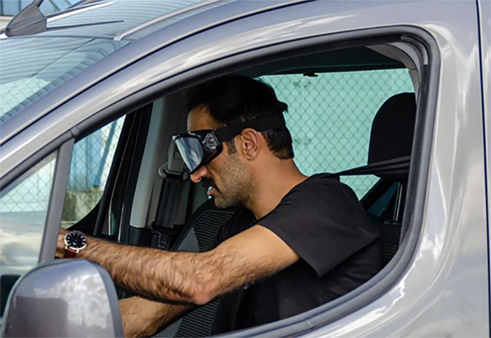 Dronken rijden simulatie